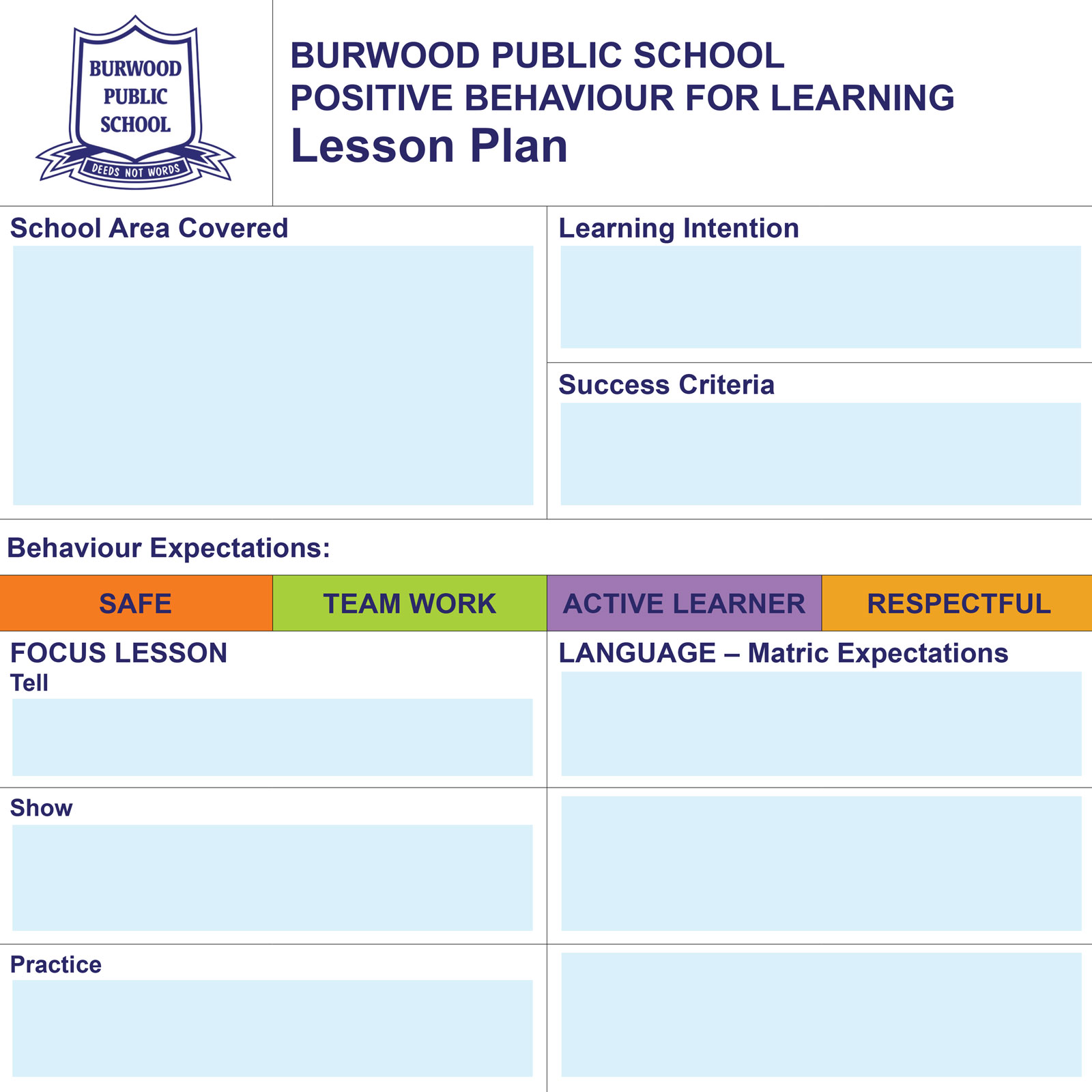 Interactive Lesson Plan