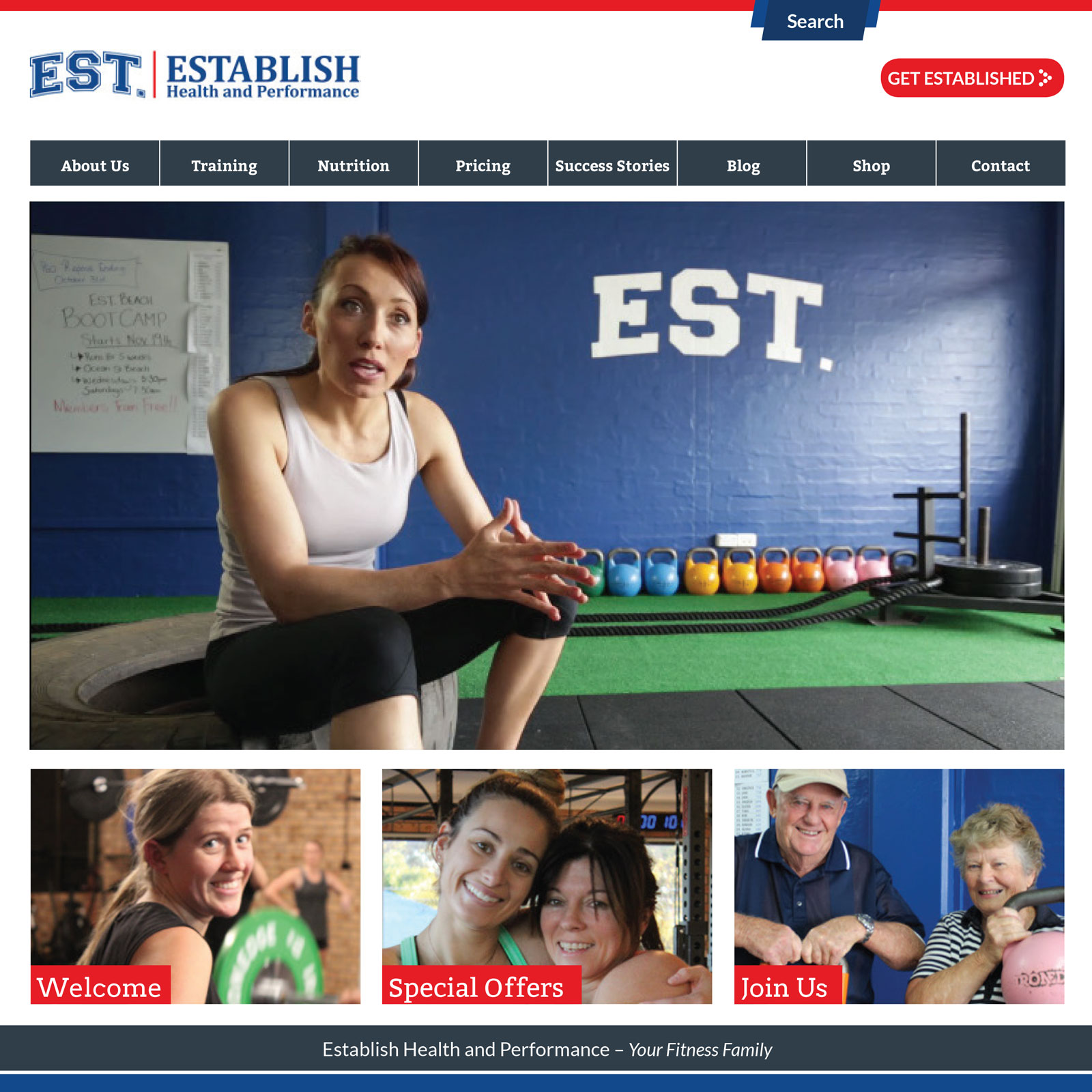 EST. Establish Health and Performance