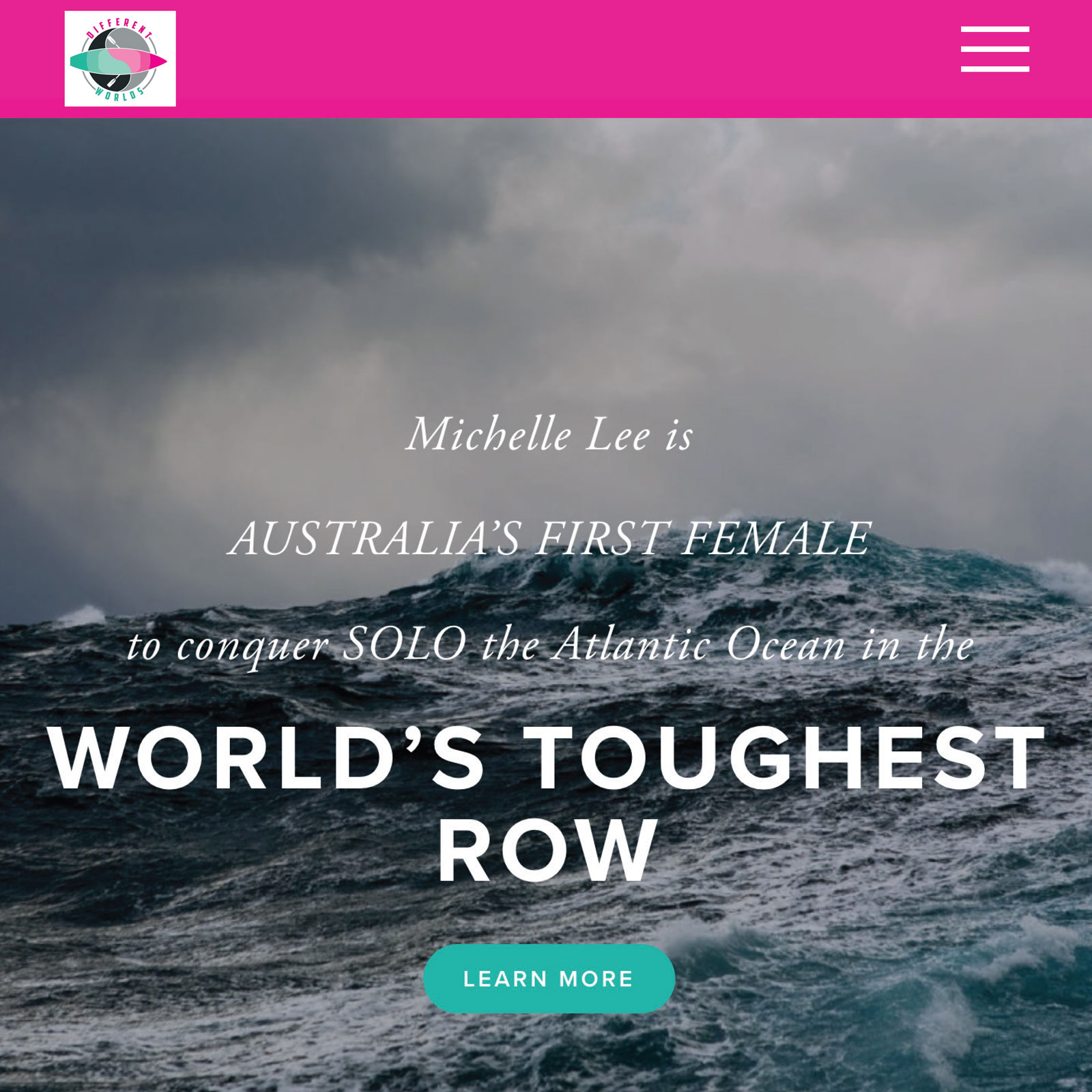 Australian Geographical Adventurer of the Year, Michelle Lee